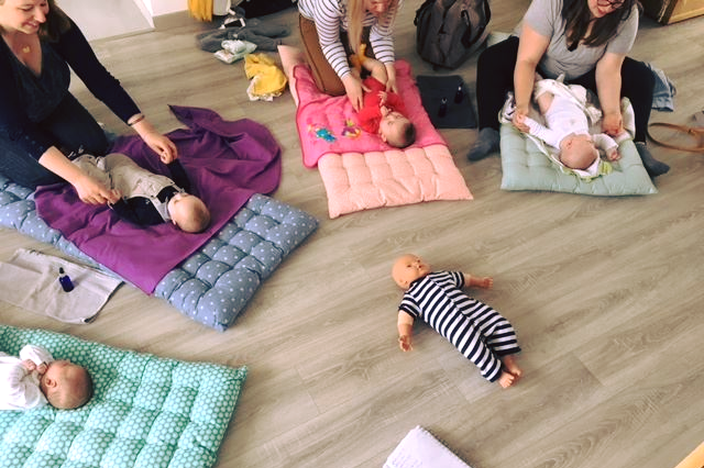 Massage bébé Orléans